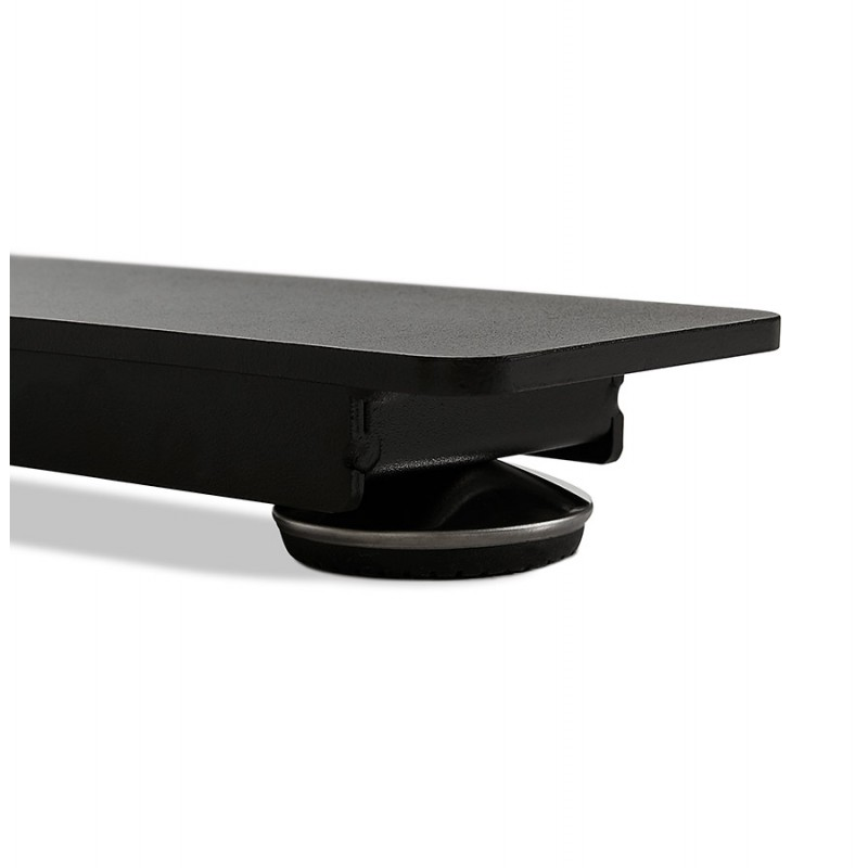 Pies negros de madera eléctrica sentados KESSY (160x80 cm) (negro) - image 49825