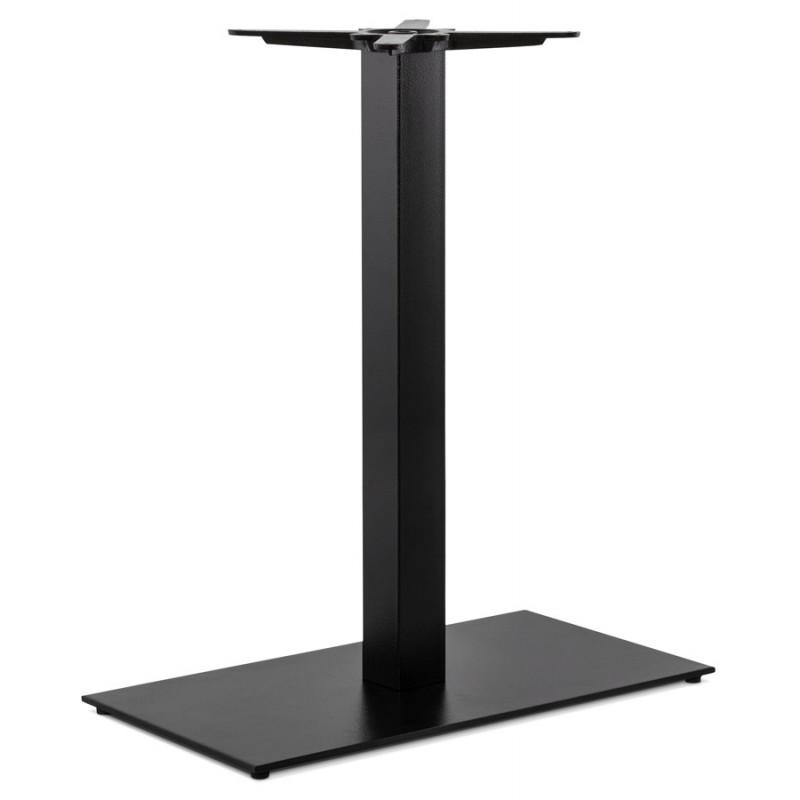 Pied de table rectangulaire en métal RAMBOU XL (75x40x88 cm) (noir) - image 49889