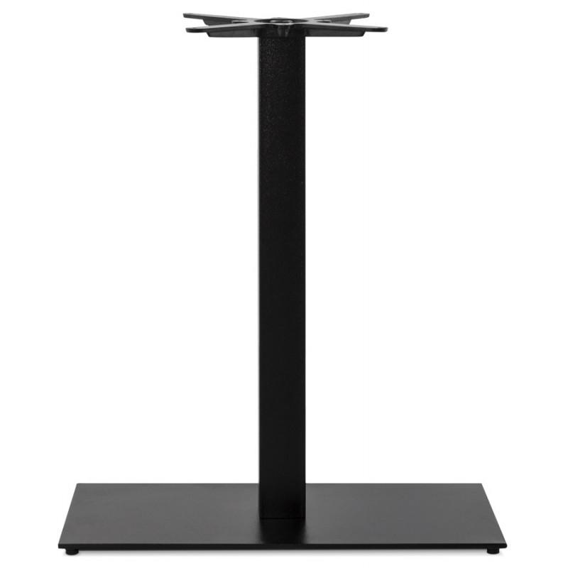 Pied de table rectangulaire en métal RAMBOU XL (75x40x88 cm) (noir) - image 49890