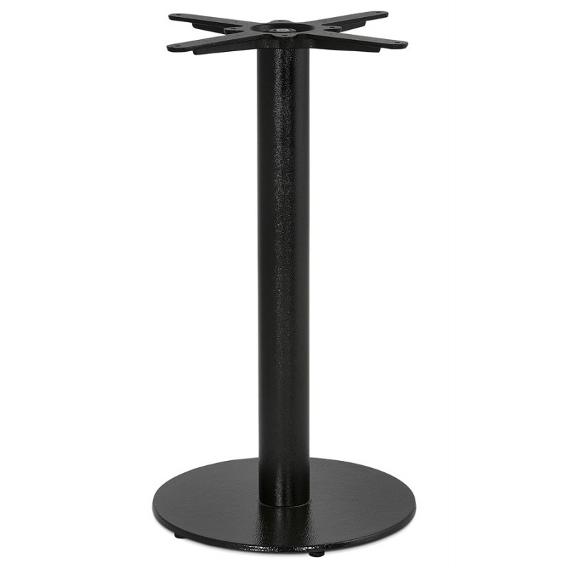 THELMA metal round table foot (40x40x73 cm) (black) - image 49900