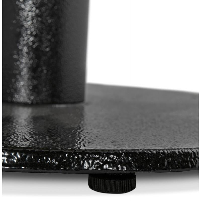 Piede rotondo in metallo THELMA (40x40x73 cm) (nero) - image 49905