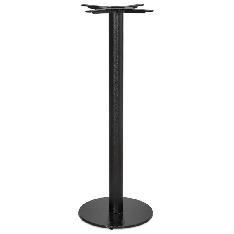 Pie de mesa redonda de metal THELMA (40x40x110 cm) (negro)