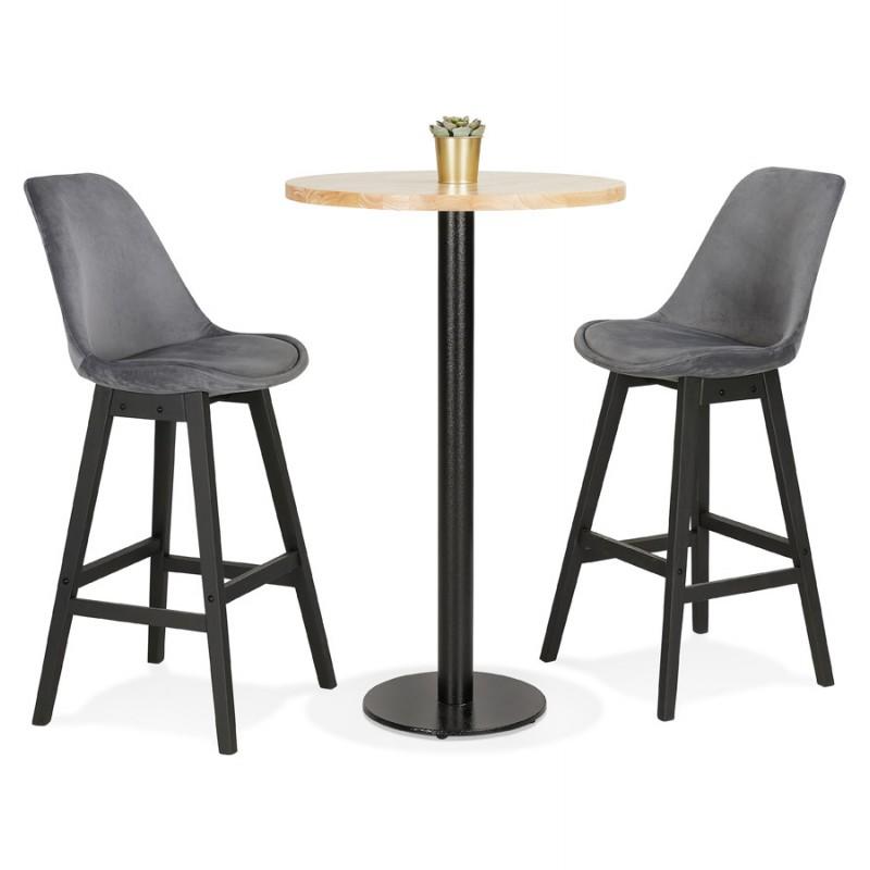 Pie de mesa redonda de metal THELMA (40x40x110 cm) (negro) - image 49913