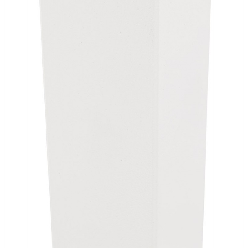 Mesa cuadrada de metal EMIE (50x50x73 cm) (blanco) - image 49918
