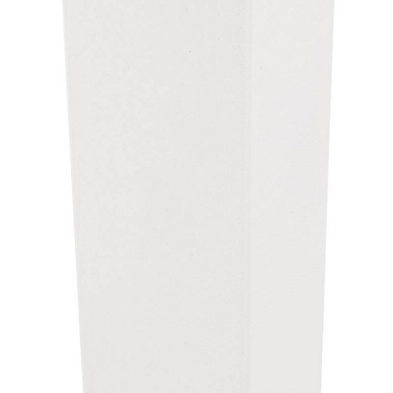 Piano quadrato in metallo EMIE (50x50x73 cm) (bianco) - image 49918