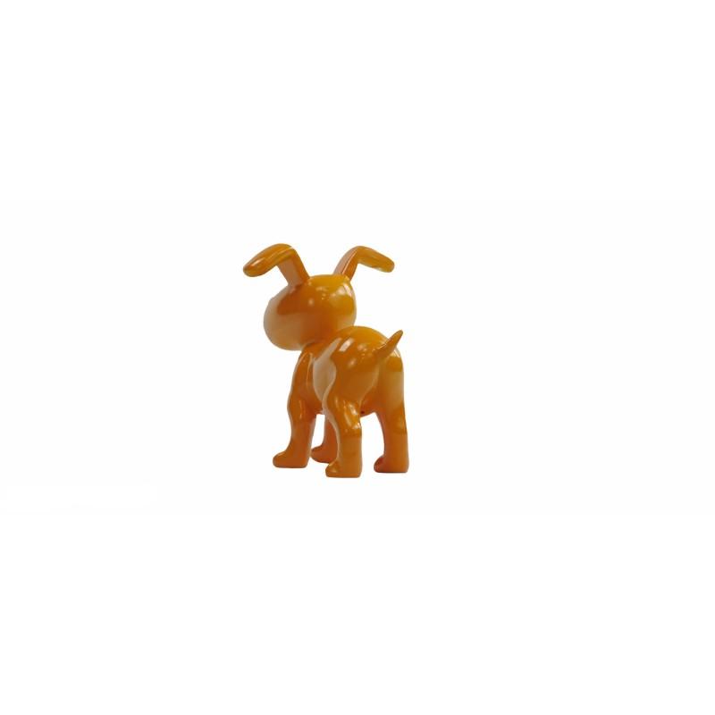 Conjunto de 6 esculturas de perros de diseño en resina (multicolor) - image 50021