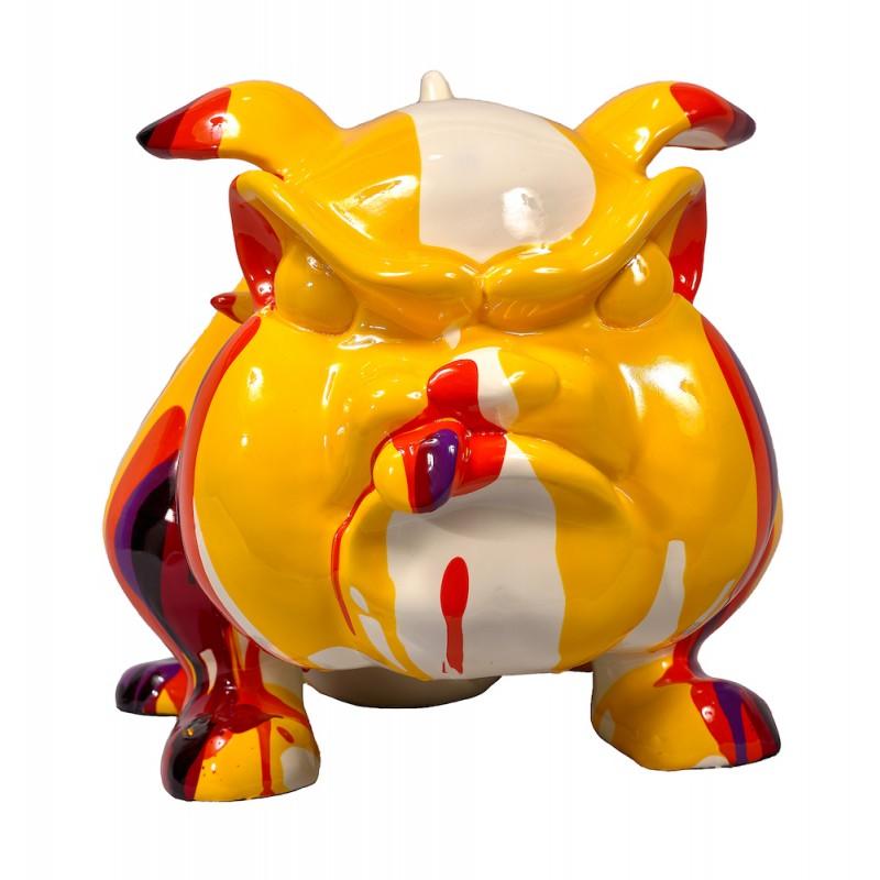 Statue sculpture décorative design CHIEN CARTOON (H27) (Multicolore) - image 50422
