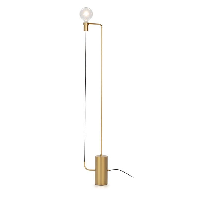 Lámpara De Pié 25X12X152 Metal Dorado - image 50569