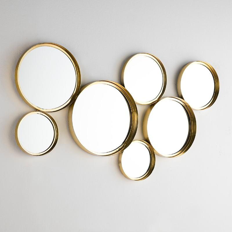 Espejo 119X5X62 Cristal Metal Dorado - image 50679