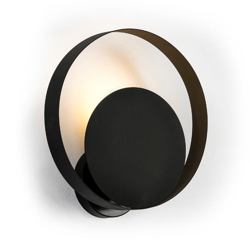 Wall Lamp 30X11X31 Metal Black - image 50897