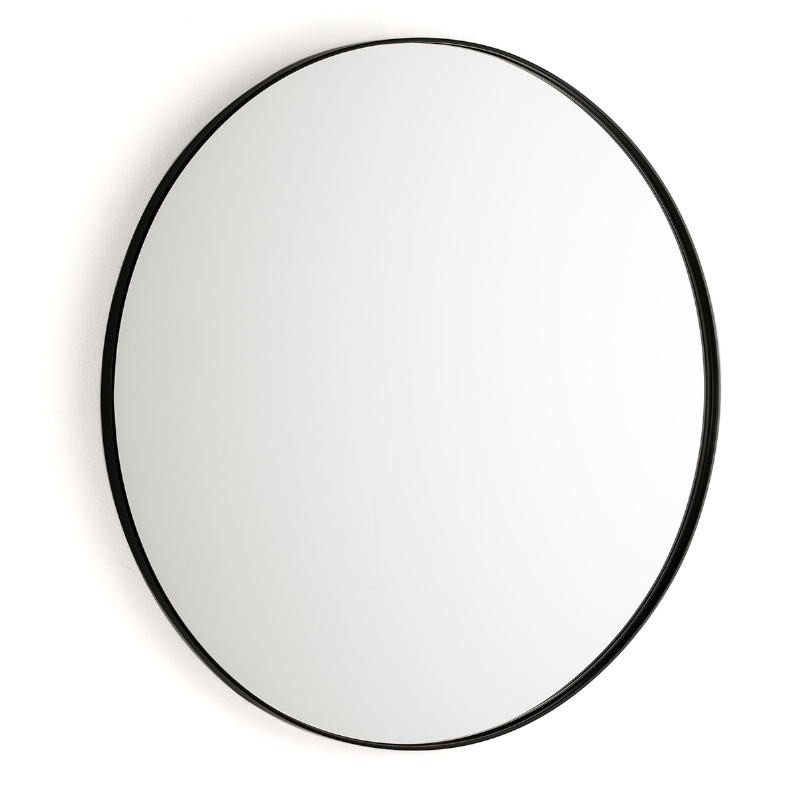 Espejo 80X3X80 Cristal Metal Negro - image 50933