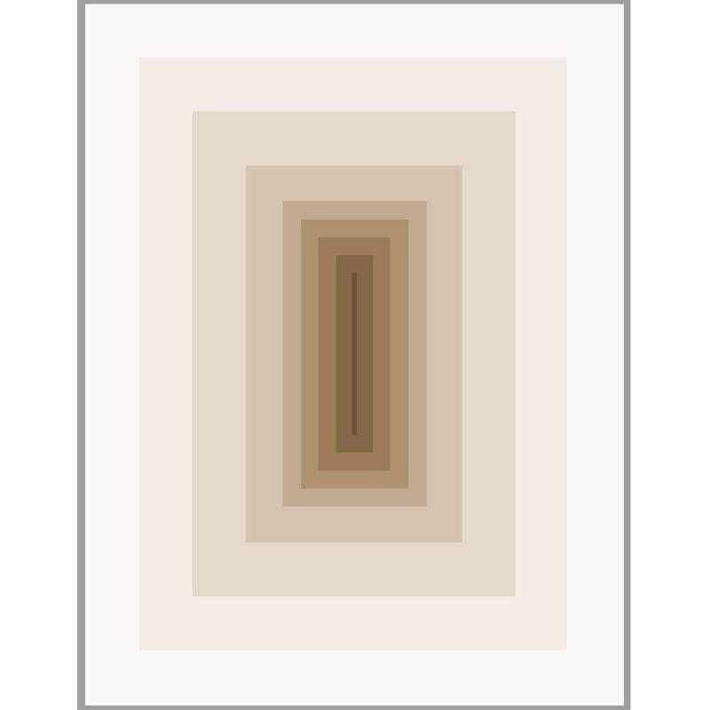 Frame 150X3X200 Methacrylate Brown