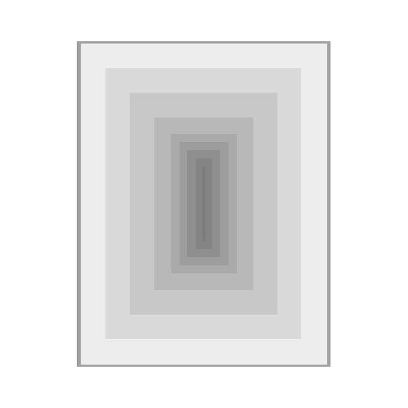Tableau 100x3x130 Méthacrylate Gris
