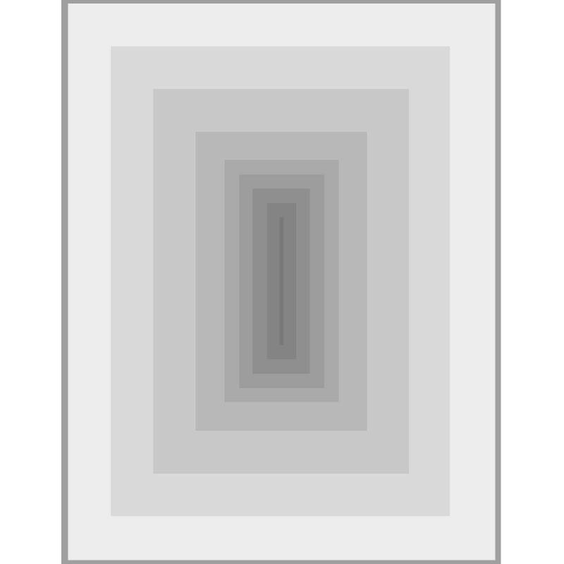 Bild 150X3X200 Methacrylat Grau