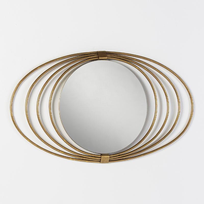 Spiegel 91X3X53 Glas/Metall Golden - image 51266