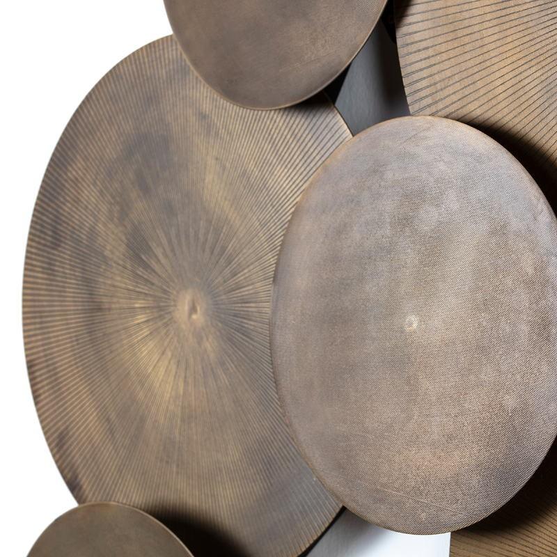 Scultura 129X9X94 Metallo Dorato Antique - image 51471