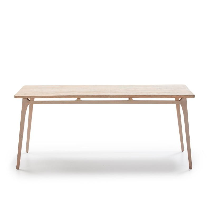 Dining Room Table 180X90X76 Wood Grey - image 51526
