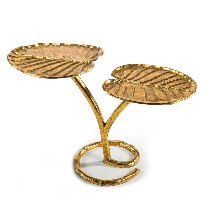 Side Table 75X34X47 Metal Golden - image 51537