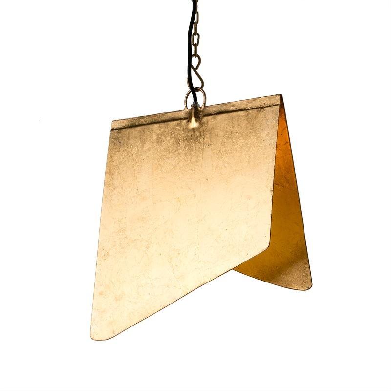 Hanging Lamp 40X35X15 Metal Golden