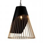 Hanging Lamp 52X52X69 Metal Golden Black