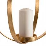 Lampe à suspension Candélabre 34x34x41 Métal Doré