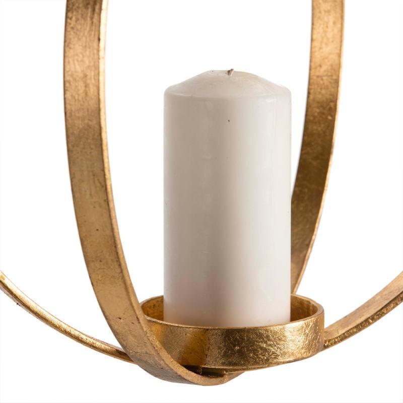 Lampe à suspension Candélabre 34x34x41 Métal Doré - image 51610