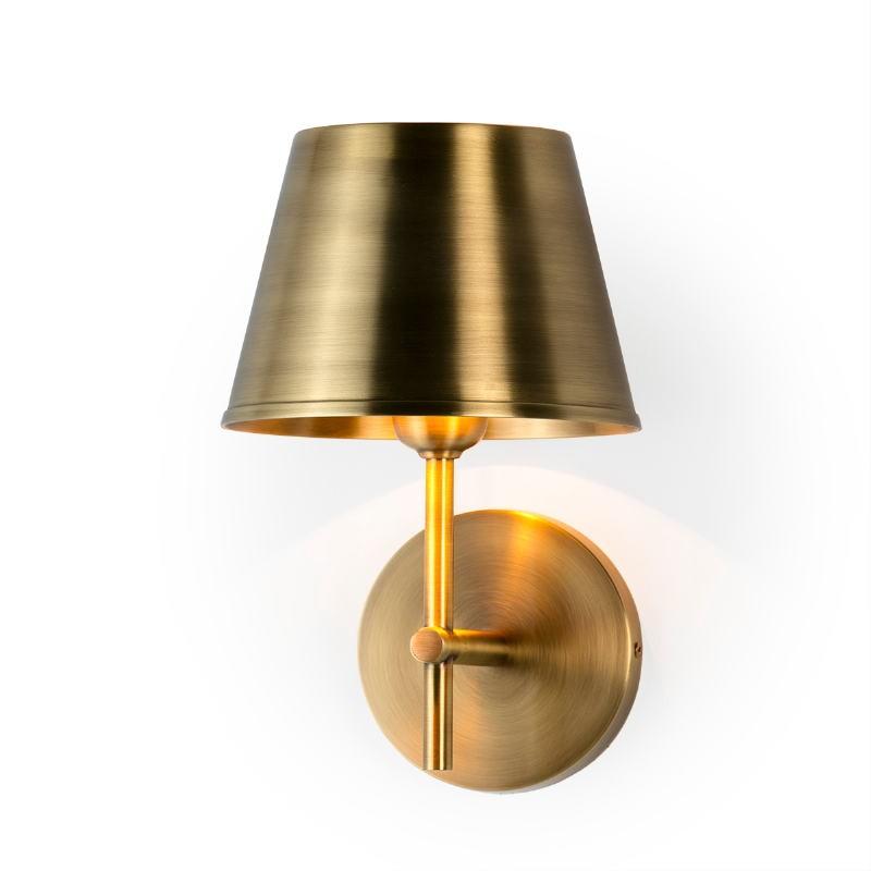 Wall Lamp 18X18X26 Metal Golden