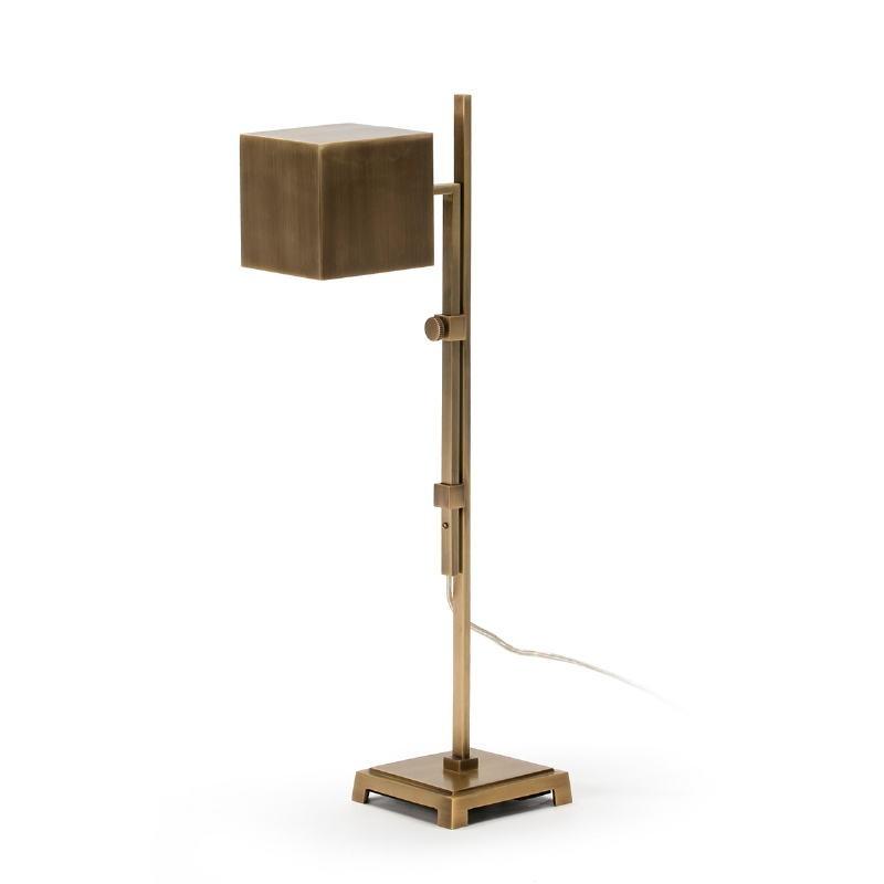 Lampada Da Tavolo 25X12X55 Metallo Dorato - image 51643