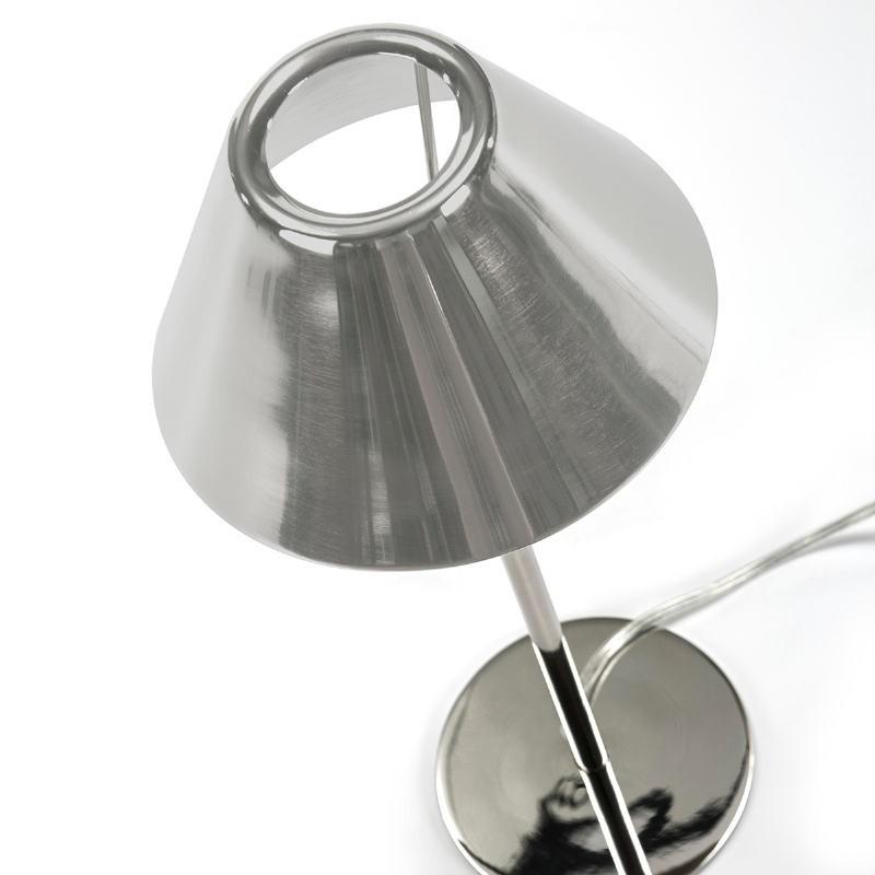 Lampada Da Tavolo 16X12X38 Metallo Argento - image 51665