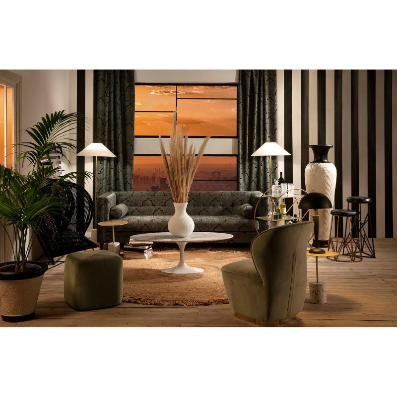 Lampe de Table 30x15x59 Métal Noir - image 51669