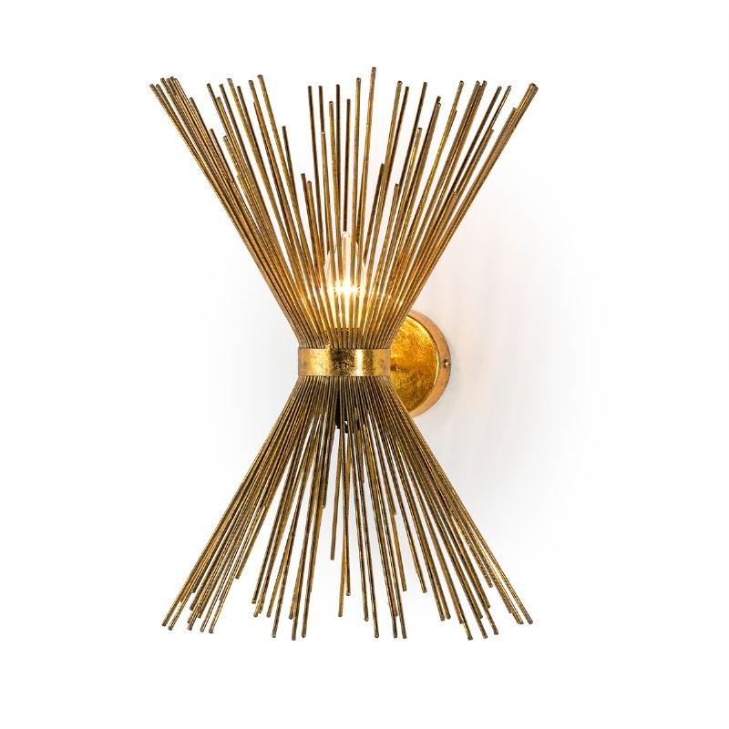 Wall Lamp 26X26X43 Metal Golden - image 51712