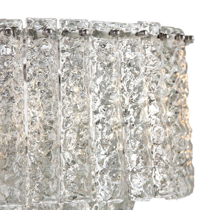 Hängelampe 39X39X29 Glas/Metall Silber - image 51720