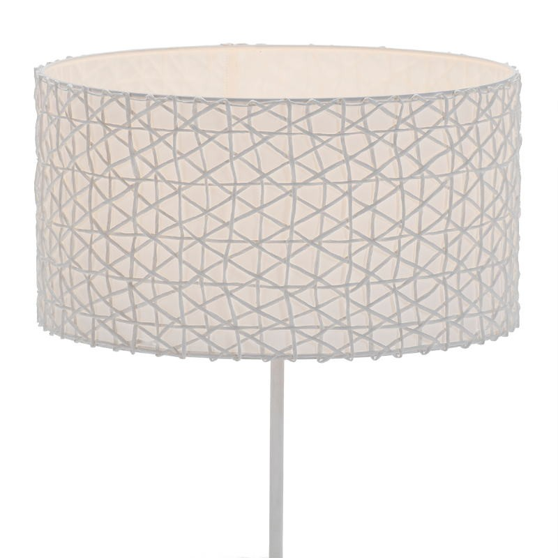 Lampshade 45X45X24 Synthetic Paper White - image 51738