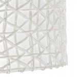 Abat-jour 45x45x24 Synthétique Papier Blanc