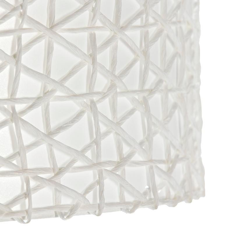 Abat-jour 45x45x24 Synthétique Papier Blanc - image 51739