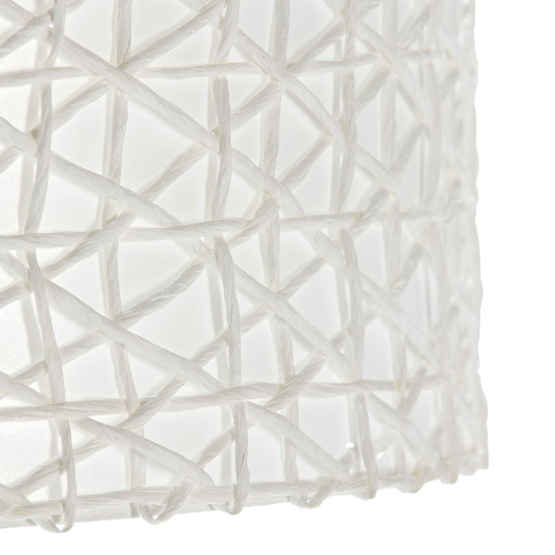 Lampshade 45X45X24 Synthetic Paper White - image 51739