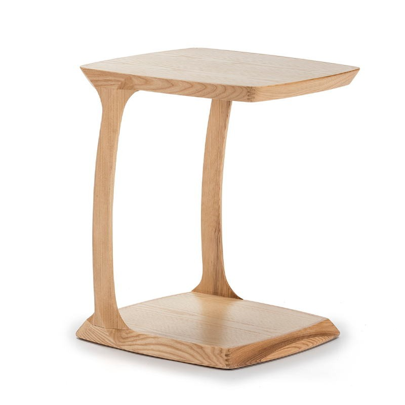 Table de chevet 50x43x59 Bois Naturel