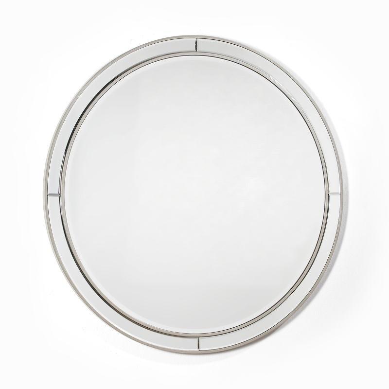 Miroir 90x4x90 Verre MDF Argent - image 51859
