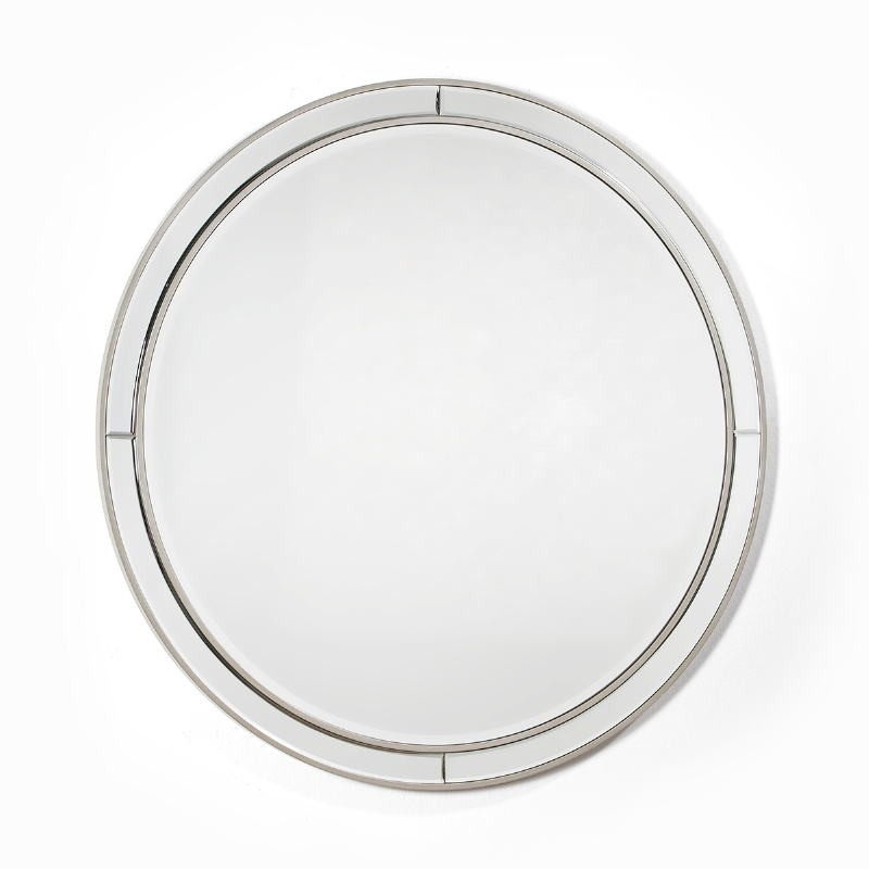 Mirror 90X4X90 Glass Mdf Silver - image 51859
