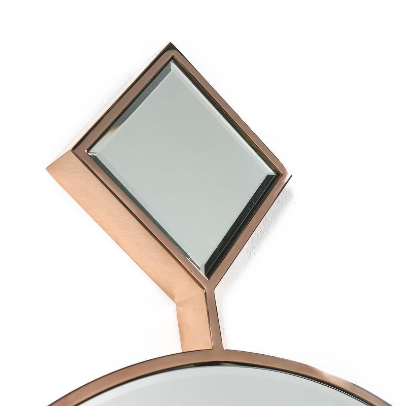 Mirror 65X4X90 Glass Metal Golden - image 51876