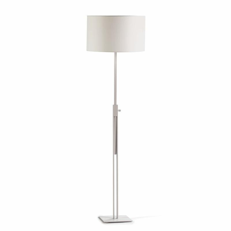 Lampada A Stelo Senza Paralume 25X25X100 200 Metallo Bianco - image 51960