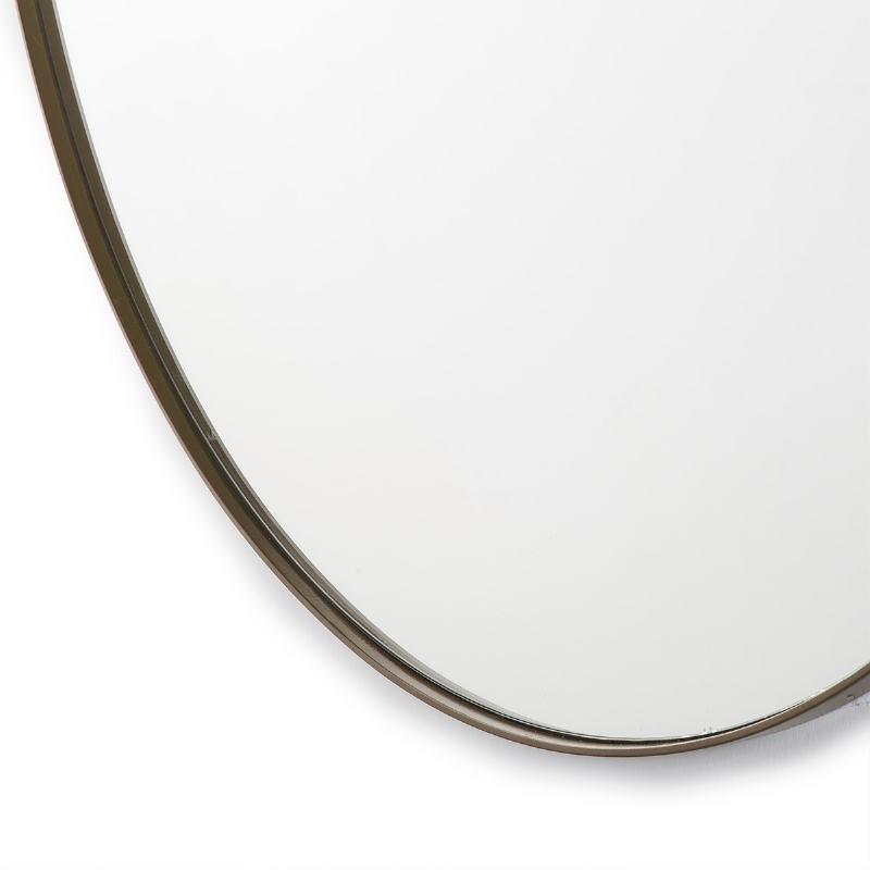 Miroir 120x3x120 Verre Métal Doré - image 52066