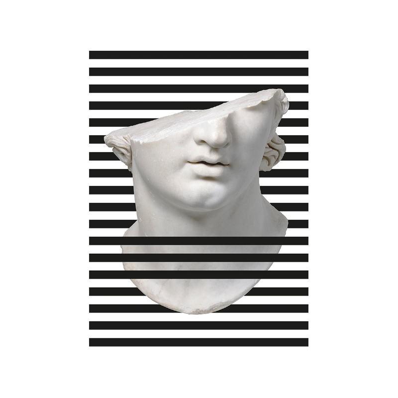 Bild 60X3X80 Methacrylat Weiß / Schwarz - image 52266