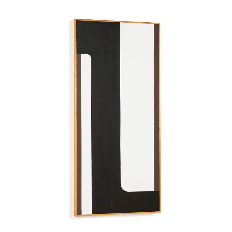 Toile 60x4x130 Blanc Noir Doré Modèle 3 - image 52315
