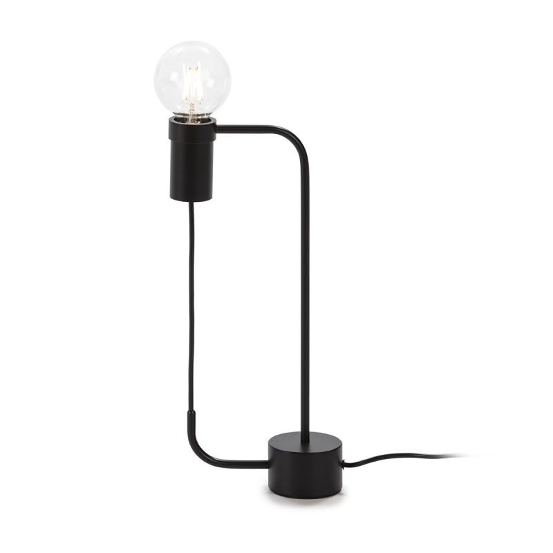 Table Lamp 18X8X40 Metal Black - image 52327