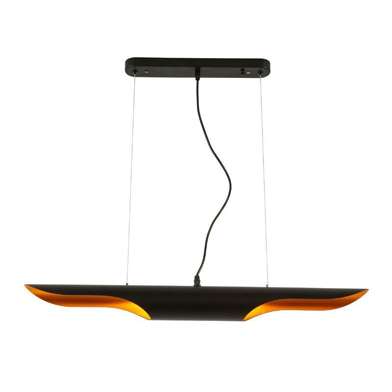 Lampe suspendue 100x8x8 Métal Noir - image 52404