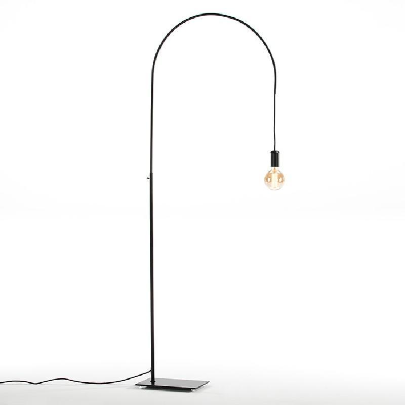Lampada A Stelo 71X20X175 Metallo Nero