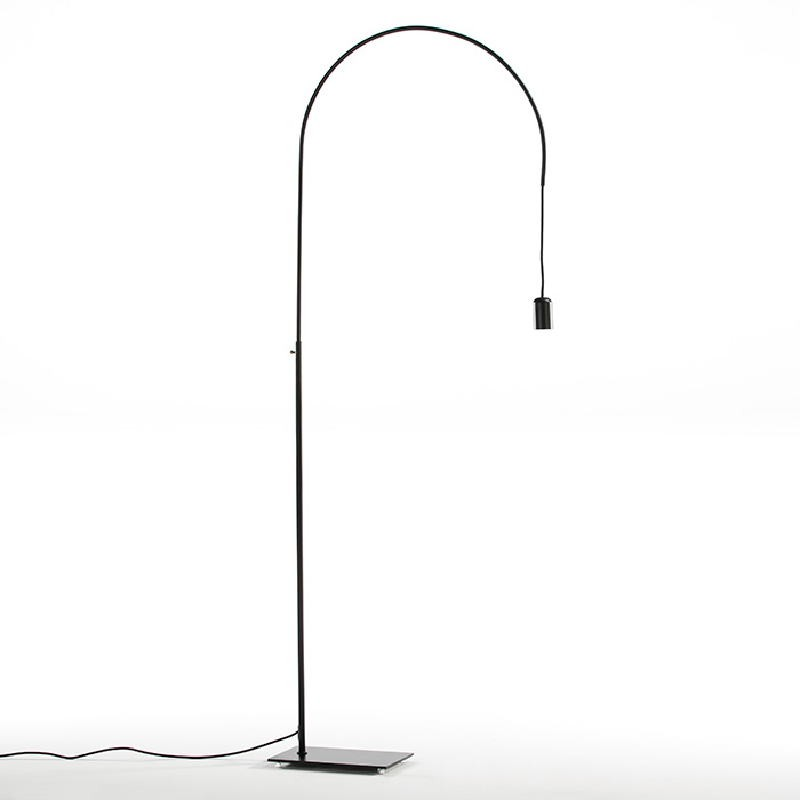 Lampada A Stelo 71X20X175 Metallo Nero - image 52416