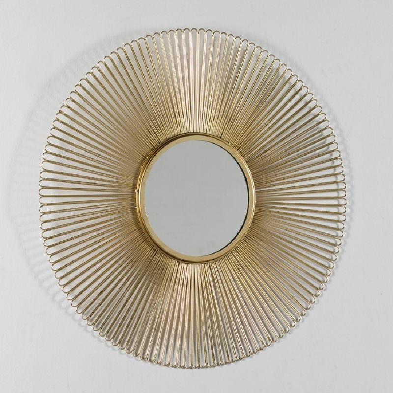 Spiegel 81X2X81 Metall Golden - image 52427