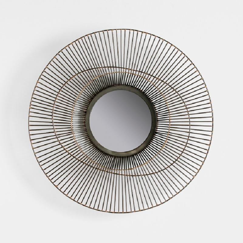 Specchio 58X10 Metallo Dorato - image 52431